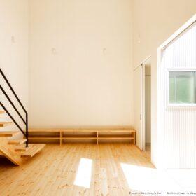 リビング 階段 シンプルノート